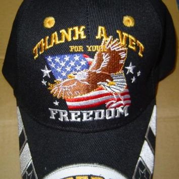 Thank A Veteran For Your Freedom Hat