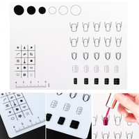 New Nail Art Soft Silicone Work Space Stamping Plate Transfer Mat Sheet Table