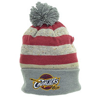 Mitchell & Ness Winter Hat Cleveland Cavaliers Dark Grey/Red kp53z-5caval (Size os)