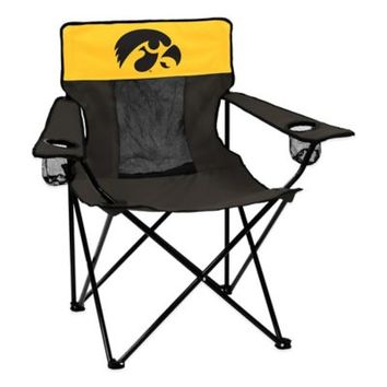 University of Iowa Collegiate Deluxe Folding Chair