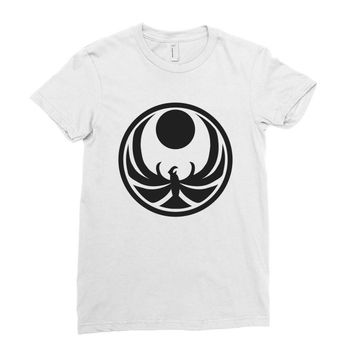 wing art Ladies Fitted T-Shirt