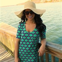 Drifting Away Tunic Dress