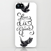 Larry Stylinson - Love is Equal iPhone & iPod Case by Aki 12