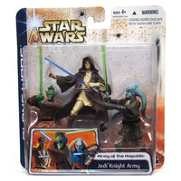 Jedi Knight Army Star Wars Army of the Republic Clone Wars Figure 3 Pack