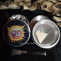 Sublime Sun 4 Piece Herb Grinder with Pollen Screen and Catcher from Cognitive Fashioned