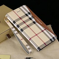 Burberry Fashion Print iPhone Phone Cover Case For iphone  7 iphone 7plus