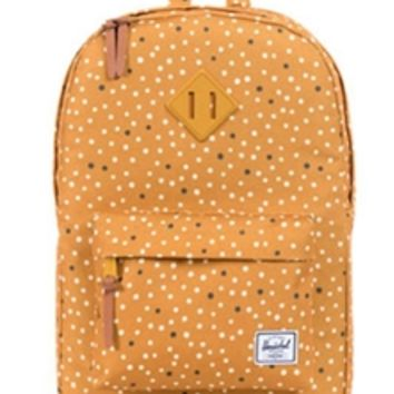 Herschel Supply Co. Heritage Backpack in Mustard Yellow 10019-00440