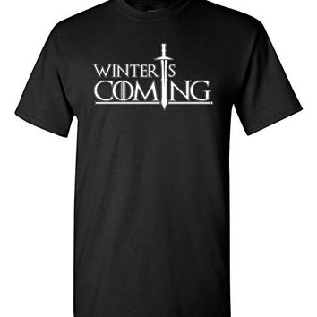 Winter Is Coming DT Adult T-Shirt Tee