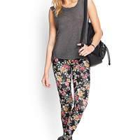 Vibrant Floral Leggings