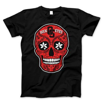 Ohio Skull Limited Edition Print T-Shirt & Apparel
