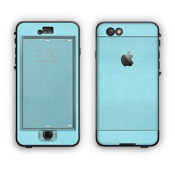 The Vintage Blue Surface Apple iPhone 6 Plus LifeProof Nuud Case Skin Set