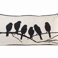 Lovebirds cushion from Ferm Living by Trine Andersen