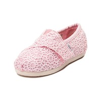 Toddler TOMS Classic Crochet Casual Shoe