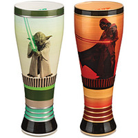 Star Wars™ Yoda And Darth Vader Pilsner Glasses