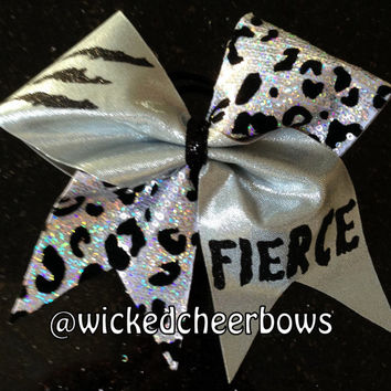Cheer Bow - 7 Different Sequin Colors To Choose From
