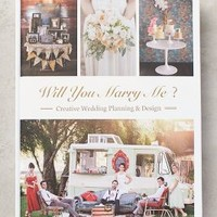 Will You Marry Me? by Anthropologie in Grey Size: One Size Books