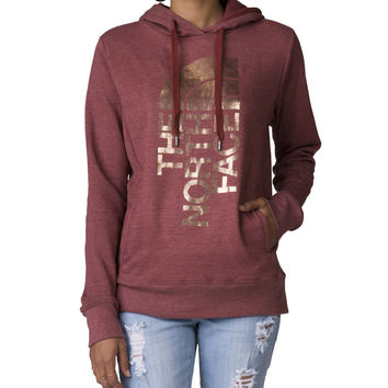 THE NORTH FACE Trivert Hoodie - Burgundy | Jimmy Jazz - NF0A2ZMC-WD