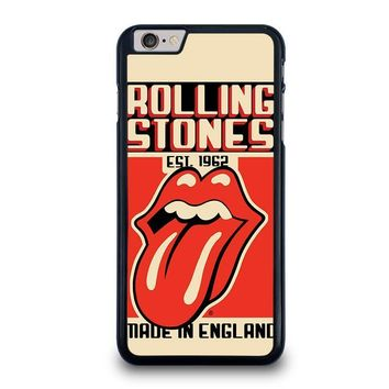 the rolling stones 1962 iphone 6 6s plus case cover  number 1