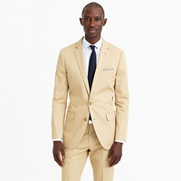 J.Crew Mens Ludlow Suit Jacket With Double Vent In Italian Chino