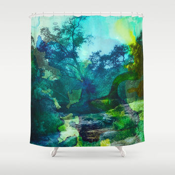 No Relief Shower Curtain by DuckyB (Brandi)