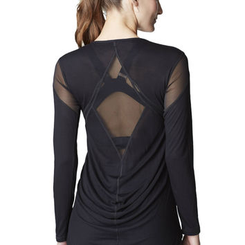 Michi Jager Top | Elegant Workout Top
