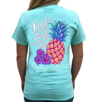 Southern Attitude Preppy Rough Pineapple T-Shirt