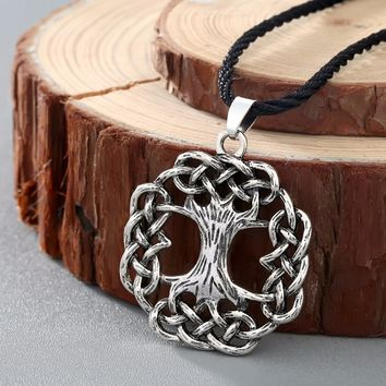 Tree of Life Celtic Knot Necklace