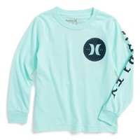 Boy's Hurley 'Savage Circle' Long Sleeve Graphic T-Shirt ,