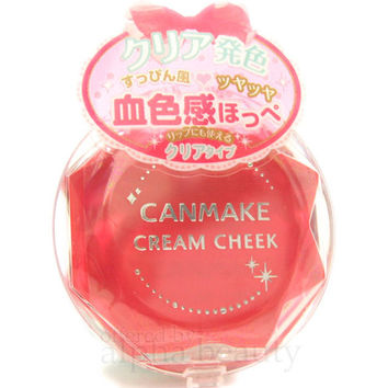 Canmake Japan Cream Blush Cheek Color Palette - Clear Finish Type