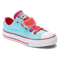 Converse Chuck Taylor All Star Double-Tongue Sneakers for Girls (Blue)