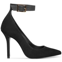 Steve Madden Women's Mary Ann Ankle Strap Pumps