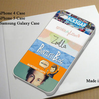 The Youtubers inspired Best Seller Phone Case on Etsy for iPhone 4, iPhone 4s, iPhone 5 , Samsung Galaxy s3 and Samsung Galaxy s4