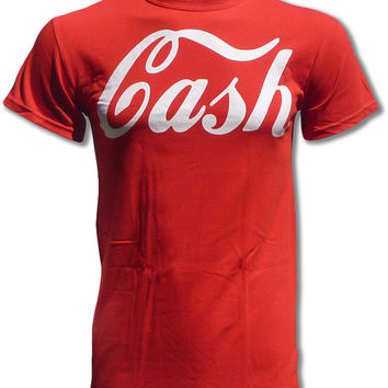 CASH T Shirt (Worn By Jack White - The White Stripes) - Graphic Tees For Men & Women