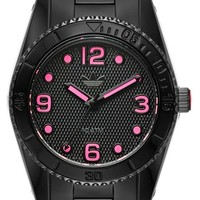 Women's adidas Originals 'Brisbane' Chronograph Bracelet Watch, 34mm - Black/ Pink