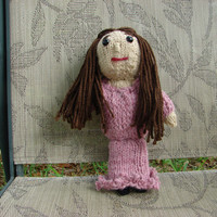 Fantine, Hollywood-Style, Les Miserables Doll Collection, Hand Knitted, 11-inches tall,  Choice of Hair Color