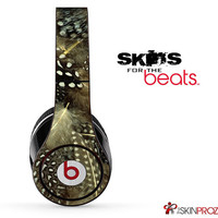 Peacock Feathers Skin For The Beats by Dre Studio, Solo, Pro, Mix-R or Wireless