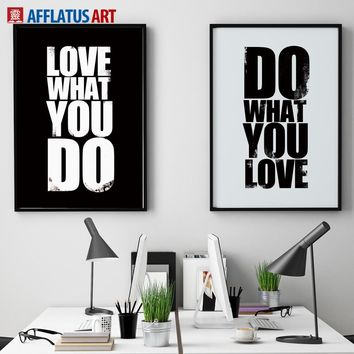 Motivational Quotes Wall Art Canvas Painting Nordic Posters And Prints Vintage Poster Wall Pictures For Living Room Office Decor