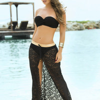 Lace Beach Skirt & Cover-Up