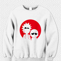 Rick and morty logo Sweater Man and Sweater Woman