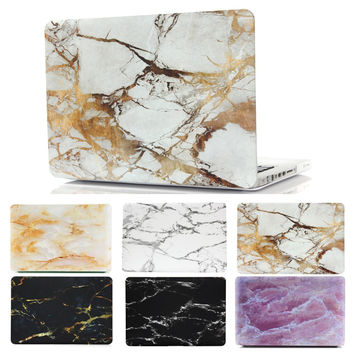 """Marble Painting Frosted Matte Hard Cover Case For Apple Macbook Air Pro 11.6"""" 13.3"""" 15.4"""" 11"""" 12'' 13"""" 15"""" With Retina Display"""