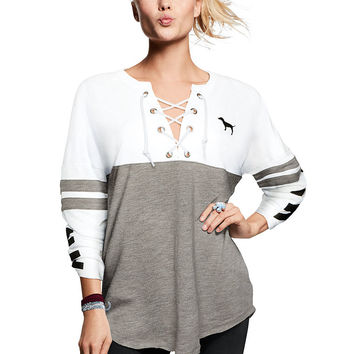Best Victoria's Secret Varsity Crew Products on Wanelo