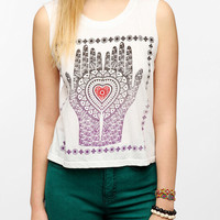 Le Shirt Henna Hands Muscle Tee