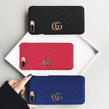 GUCCI Fashion iPhone Phone Cover Case For iphone 6 6s 6plus 6s-plus 7 7plus 8 8plus
