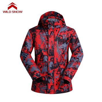 Snow boarding ski jacket Outdoor Clothing European and American style Thermal windproof Snow Jacket waterproof Warm Skiing Coat