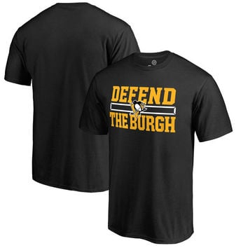 Pittsburgh Penguins Hometown Collection Defend T-Shirt - Black