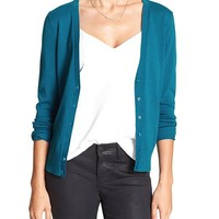 Banana Republic Womens Factory Forever Vee Cardigan