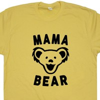 Mama Bear T Shirt Dancing Bears Grateful Dead T Shirt Phish Shirt Widespread Panic Shirt