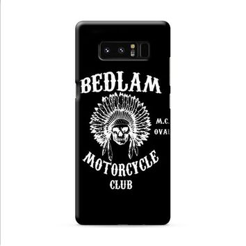Bedlam Motorcycle Club Samsung Galaxy Note 8 case