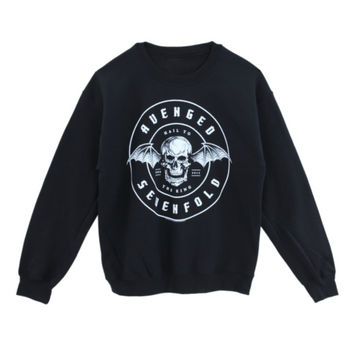 Avenged Sevenfold Hail To The King Crew Pullover