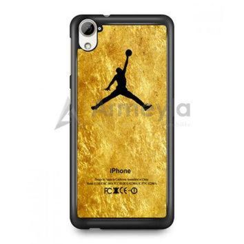 DCKL9 Michael Jordan Golden Gold Pattern HTC Desire Case | armeyla.com